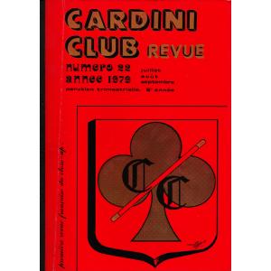CARDINI - CLUB REVUE N° 22, Année 1979