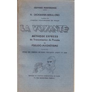 LA VOYANTE (N. DICKMANN-MINALONO)