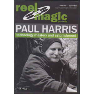 DVD REEL MAGIC QUARTERLY Volume 1 - Episode 1 PAUL HARRIS