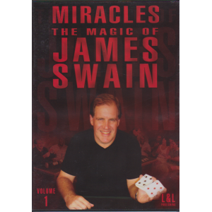 DVD MIRACLES THE MAGIC OF JAMES SWAIN Volume 1