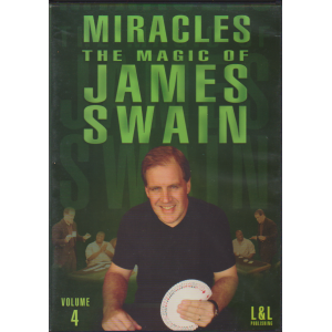 DVD MIRACLES THE MAGIC OF JAMES SWAIN Volume 4