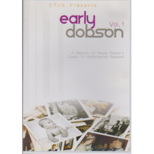 DVD EARLY DOBSON VOL. 1 (Wayne Dobson)