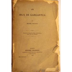LES JEUX DE GARGANTUA