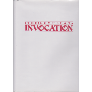 THE COMPLEAT INVOCATION VOLUME 1 (ANTHONY RAVEN)