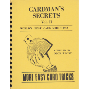 CARDMAN'S SECRETS Vol. 2 (Nick Trost)
