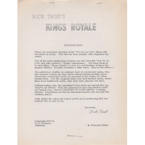 NICK TROST'S KINGS ROYALE