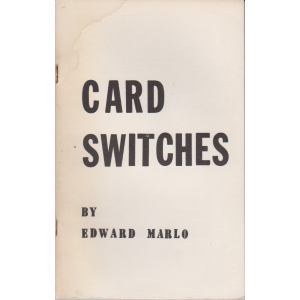 CARD SWITCHES BY EDWARD MARLO