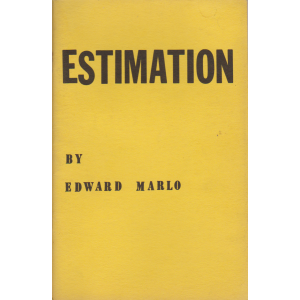 ESTIMATION BY EDWARD MARLO