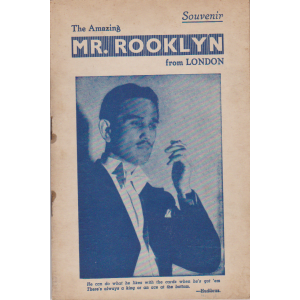 The Amazing MR. ROOKLYN from LONDON