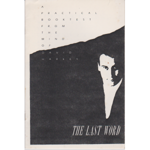 THE LAST WORD (DAVID HARKEY)