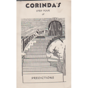 CORINDA'S STEP FOUR OF THIRTEEN STEPS TO MENTALISM - PREDICTIONS