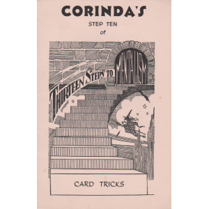 CORINDA'S STEP TEN OF THIRTEEN STEPS TO MENTALISM - CARD TRICKS