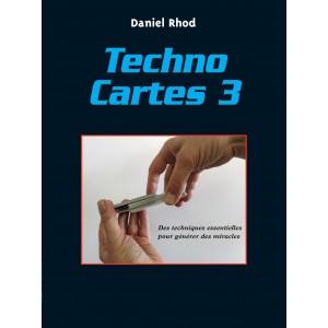 Livre Techno Cartes 3 (Daniel Rhod)