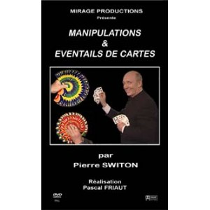 DVD MANIPULATIONS & EVENTAILS DE CARTES (Pierre Switon)
