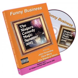 DVD Funny Business : The Niagara Comedy Magic Seminar 2007