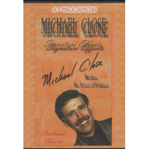 DVD MICHAEL CLOSE : SIGNATURE EFFECTS