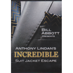 DVD INCREDIBLE SUIT JACKET ESCAPE - Anthony Lindan