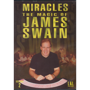 DVD MIRACLES THE MAGIC OF JAMES SWAIN Volume 2