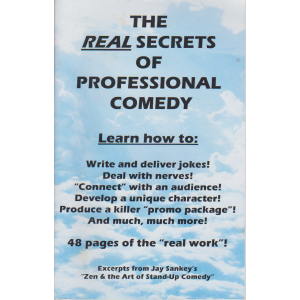 THE REAL SECRETS OF PROFESSIONAL COMEDY (JAY SANKEY)