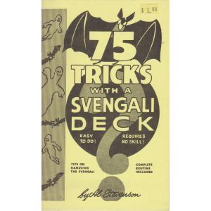 75 TRICKS WITH A SVENGALI DECK (AL STEVENSON)
