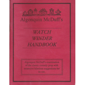 WATCH WINDER HANDBOOK (Algonquin McDuff)