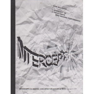 INTERCEPT By Harvey A. Berg