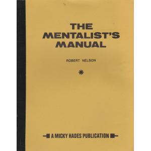 THE MENTALIST'S MANUAL (ROBERT NELSON)