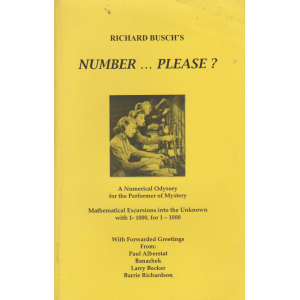 NUMBER ... PLEASE ? (RICHARD BUSCH)