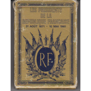 CARTES LES PRESIDENTS DE LA REPUBLIQUE FRANCAISE (GRIMAUD)