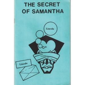THE SECRET OF SAMANTHA Created by H. PENN