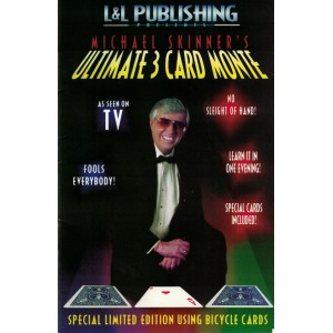 ULTIMATE 3 CARD MONTE (MICHAEL SKINNER)
