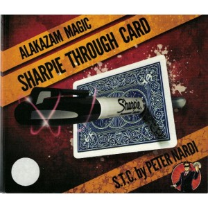 SHARPIE THROUGH CARD By Peter Nardi