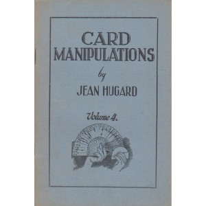 CARD MANIPULATIONS Volume 4 (JEAN HUGARD)