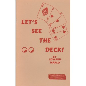 LET'S SEE THE DECK BY EDWARD MARLO