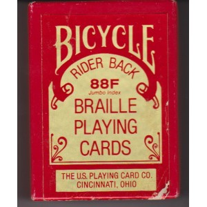 BYCYCLE BRAILLE PLAYING CARDS