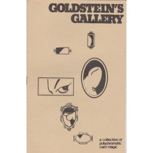 GOLDSTEIN'S GALLERY a collection of polychromatic card magic