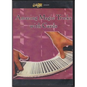 DVD AMAZING MAGIC TRICKS WITH CARDS